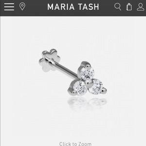 Large Diamond Trinity Threaded Stud Maria tash